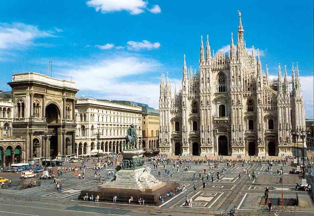 В Милан мы въехали