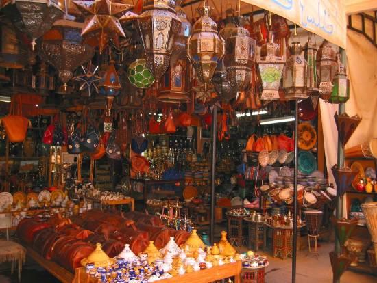 Marocco-Marrakech-Souk