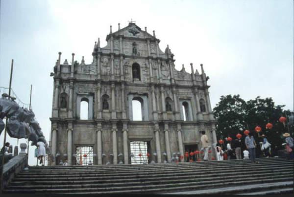 Le rovine di San Paolo