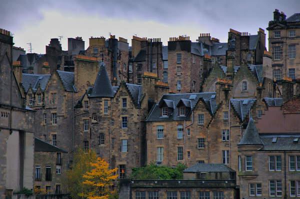 Edimburgo, scorcio della Città Vecchia