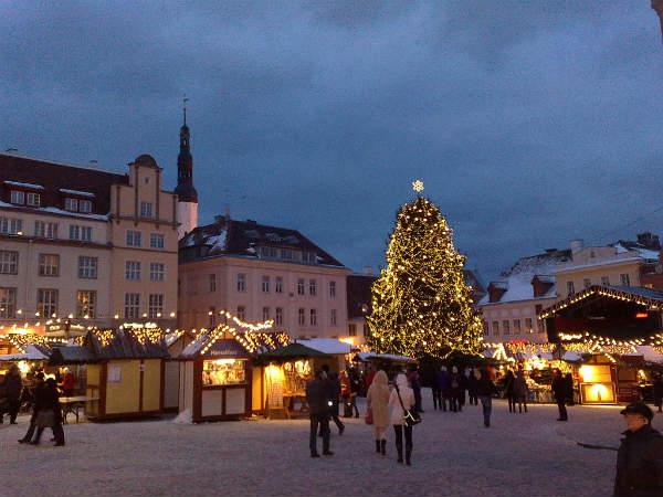 Mercatino di Natale Town Hall Square